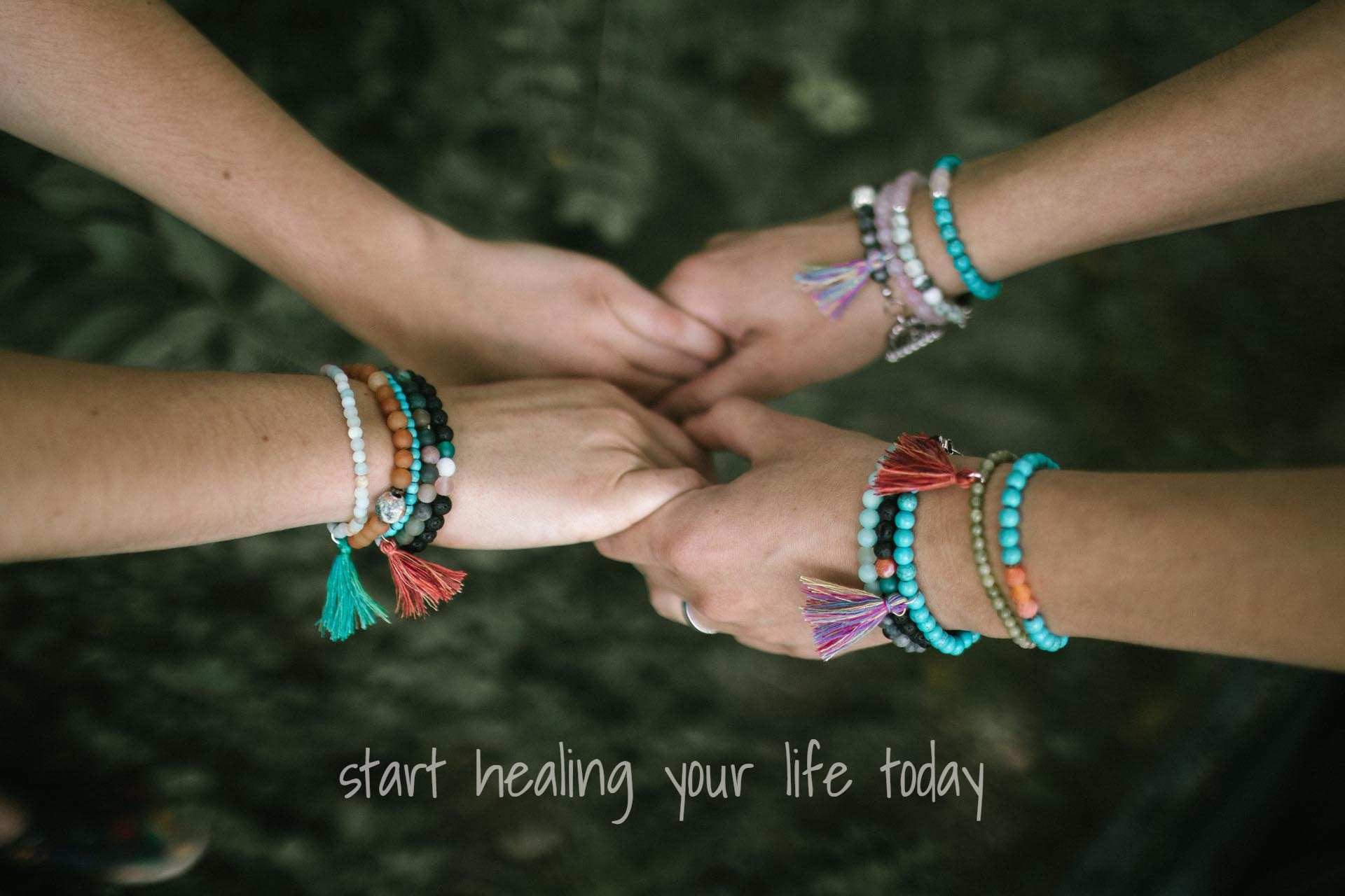 zoe healing bracelet