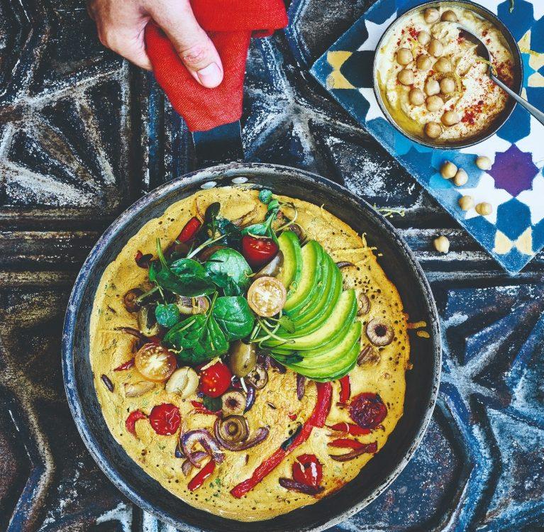 marokanski omlet od slanutka
