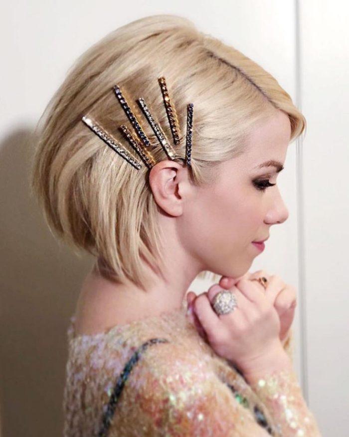svečane frizure za kratku kosu