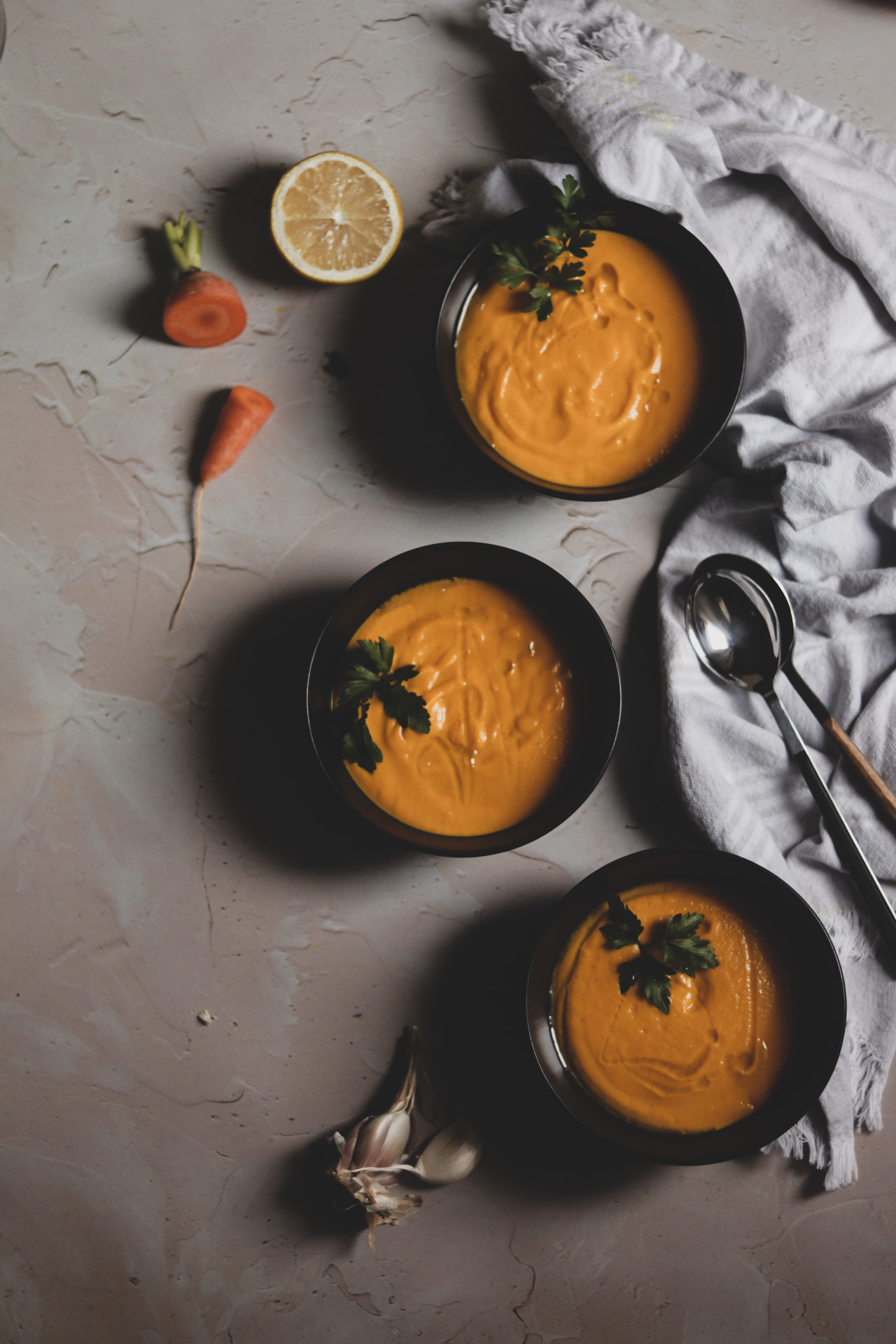juha od mrkve i đumbira