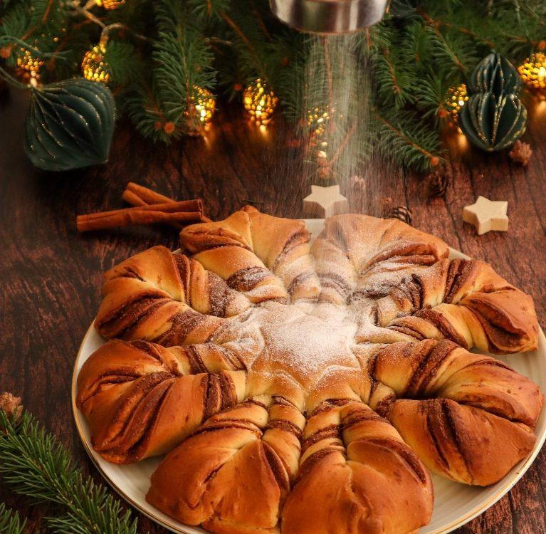 Božićna zvijezda recept kolač