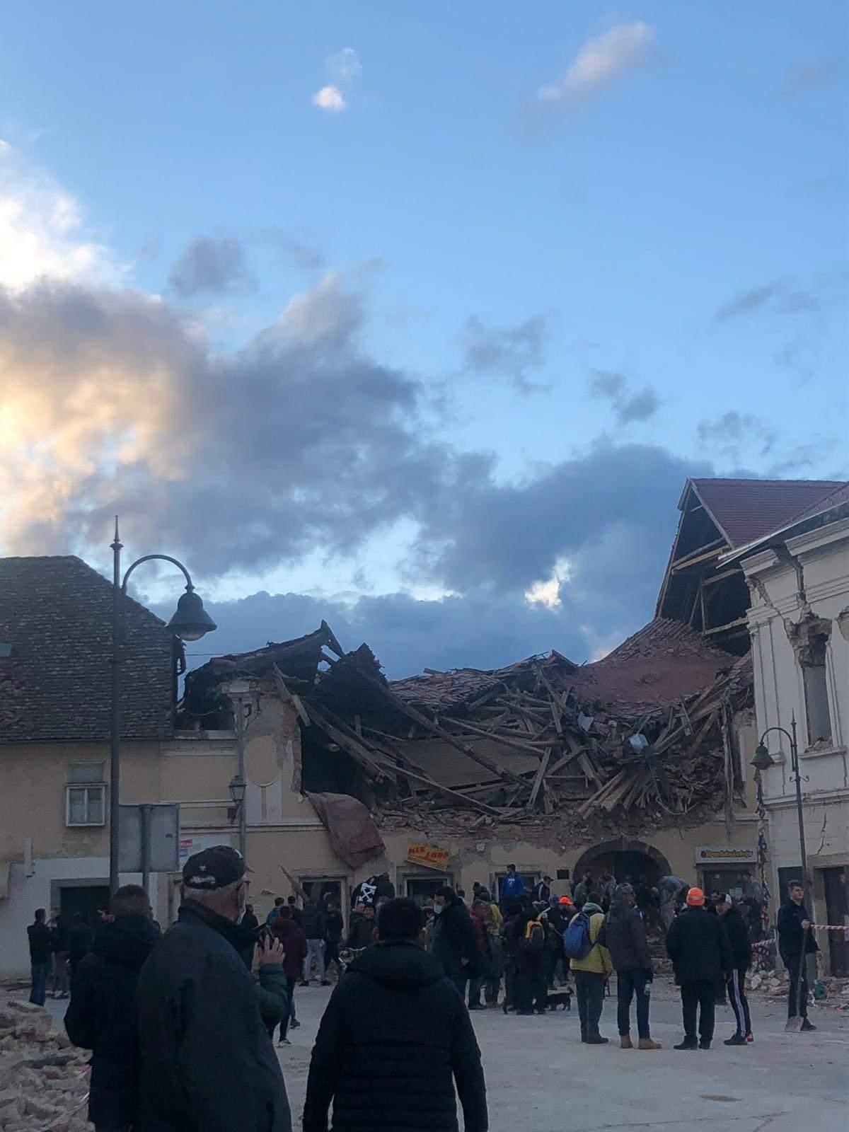 petrinja potres