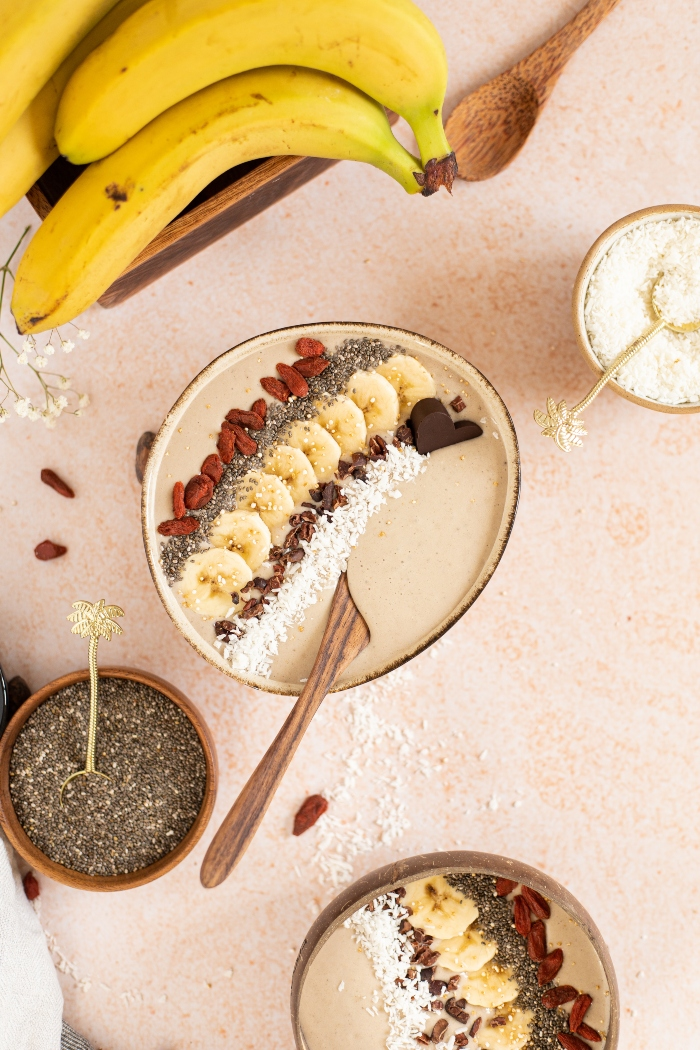 proteinski smoothie bowl