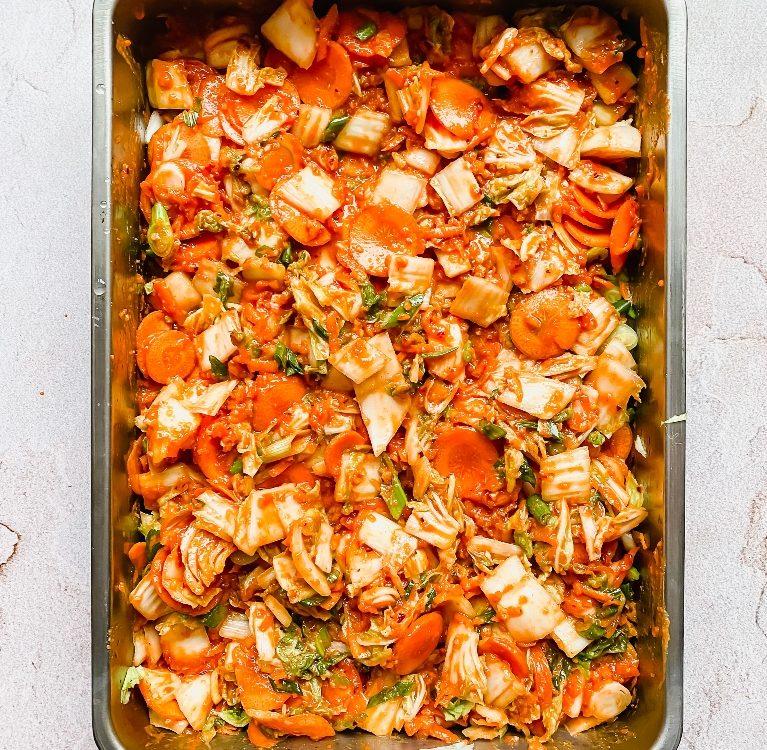 kako napraviti kimchi