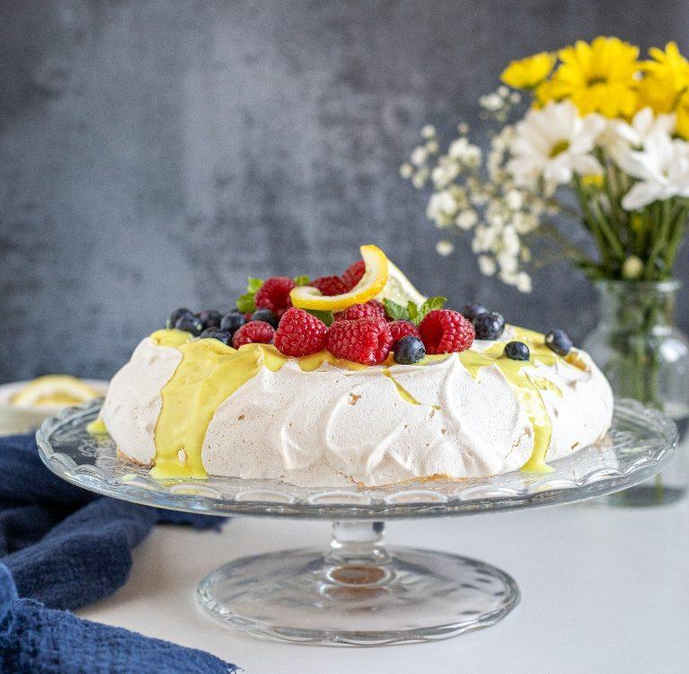 veganska pavlova torta